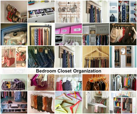 organization tips for bedrooms bedroom closet organization ideas the idea room
