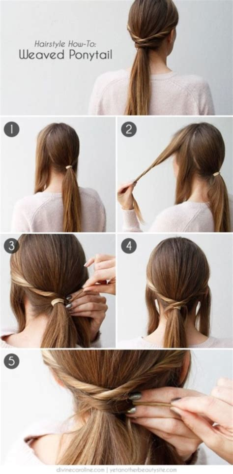 easy hairstyles      minutes