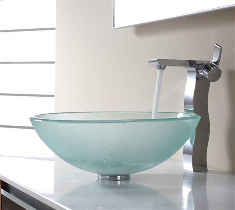 trendy bathroom sinks trendy glass vessel sinks stylish glass vessel sinks