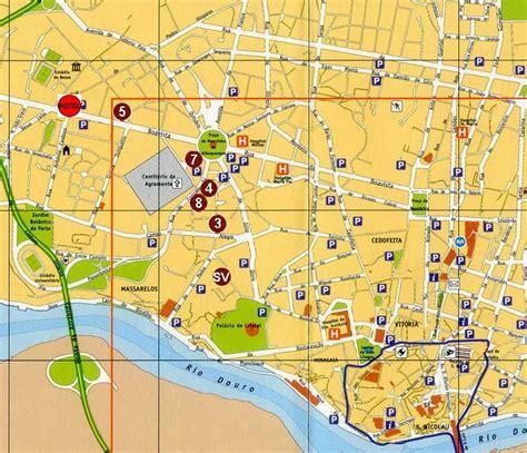 porto map may 2012 spain portugal porto