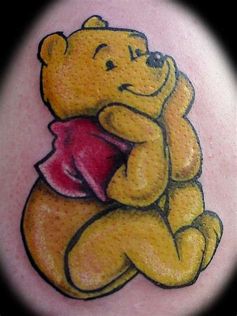 pooh tattoo designs dreaming pooh