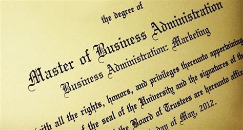 What Type Of Degree Is An Mba by You Don T Need That Mba Degree Continuing Thoughts On