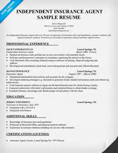 Insurance Resume Objective Examples Insurance Resume Writing Tips