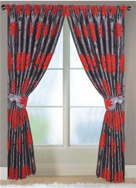 black and red curtains corsica lined black and red curtains harry corry limited