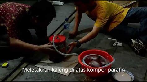 cara membuat larutan oralit sederhana eksperimen distilasi sederhana dan cara membuat alat