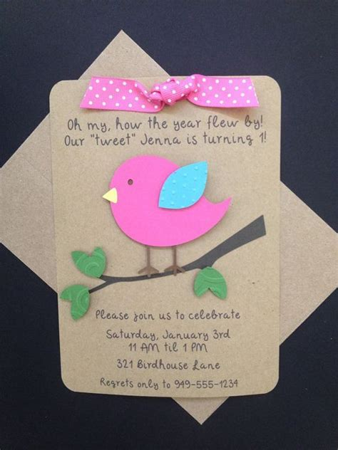 Handmade Birthday Invites - handmade birthday invitation cards for festival
