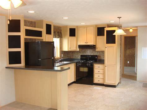Updated Kitchens With Oak Cabinets Light Kitchen Cabinets With Black Appliances Quicua Com