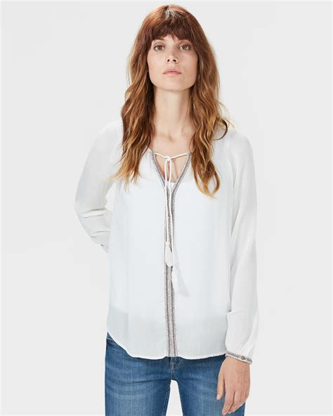 Blouse Embriodery Import 2 boho embroidered blouse 79281317 we fashion
