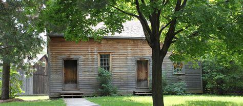 Mennonite Sheds Ontario by Mennonite Meeting House Black Creek Pioneer