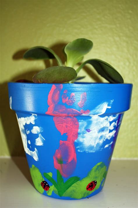 flower pot crafts for flower pots tots of crafts