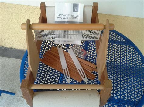 dryad rug loom loom dryad tabby two way loom weave