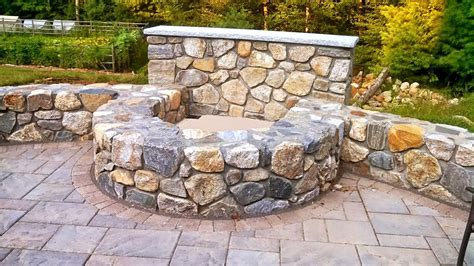 fieldstone pit outdoor living space portfolio projects in nh ma