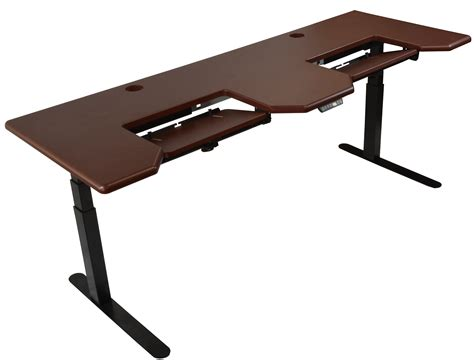 height adjust desk imovr omega everest electric standing desk review