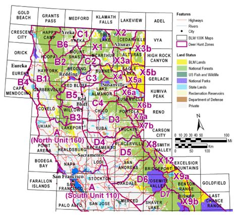 southern california blm map buy and find california maps bureau of land management