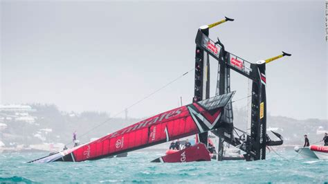 emirates nz america s cup boats sailing close to the wind cnn