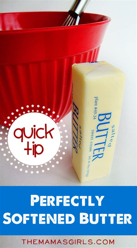 how to soften butter the quick way to get perfectly softened butter