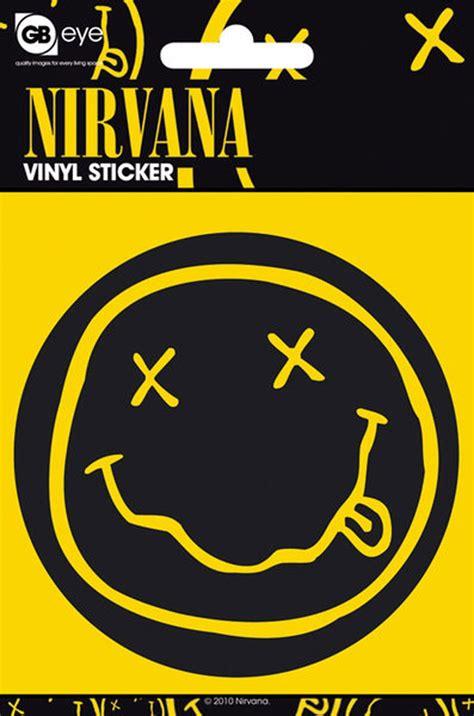 Nirvana Smiley Aufkleber by Nirvana Smiley Sticker 216 9