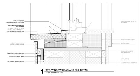 Exterior Window Sill Material The Bldgtyp Exterior Detailing Is All About Layering