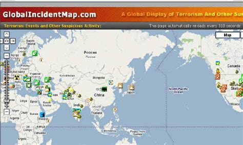 global incident map global news gallery
