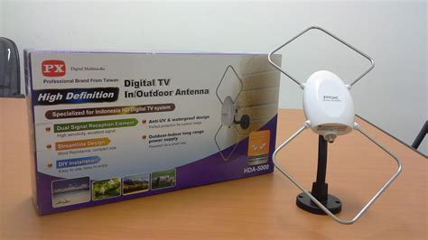 Antena Tv 5000 jual antena digital tv px hda 5000 made in taiwan 1 thn