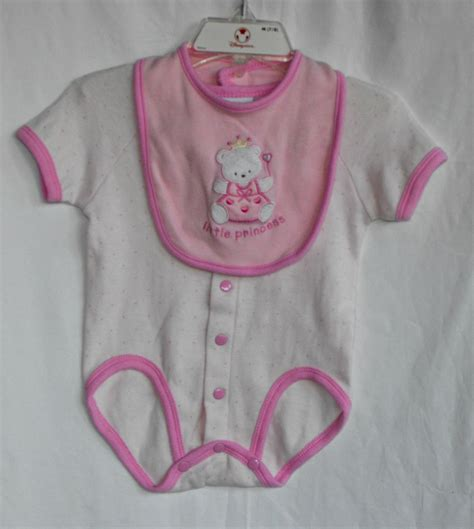 Baby Romper Bon Bebe bon bebe quot princess quot baby 3 6 months 2 peice onesie and bib