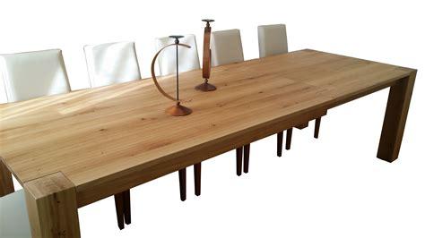 tavoli massicci tavolo in rovere con gamboni massicci tavoli a prezzi