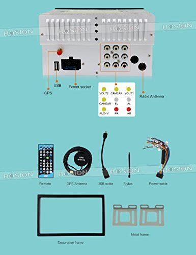 bosion 6 2 inch din wiring diagram eincar