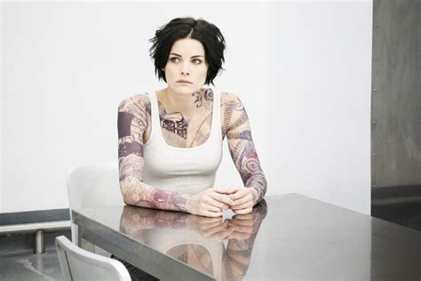 tattoo girl on blind spot fall tv did you like blindspot minority report life in