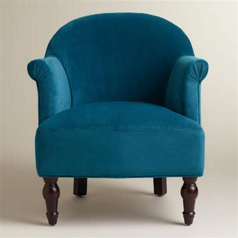 Peacock Blue Chair Peacock Blue Lorna Chair World Market