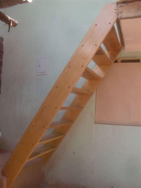 como hacer una escalera de canas como hacer una escalera de madera sencilla diy furniture