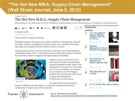 Mba Purchasing And Supply Chain Management by Master Supply Chain Management 2014