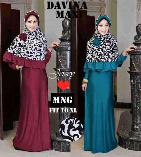 Loly Jumbo Dress Maxi Gamis Muslim gamis syarii davina maxi xl koleksi busana muslimah size