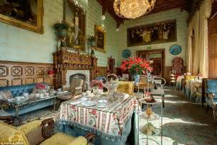 The Dining Room Ie by Ashford Castle In Ireland Is A Mix Of Refined Luxury And