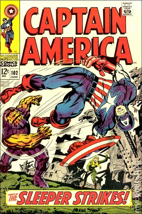 Captain America Comic Book captain america 1968 1st series comic books