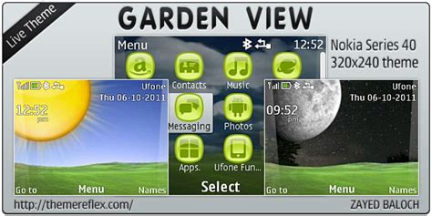 nokia c3 00 live themes free download garden view live theme for nokia c3 x2 01 themereflex