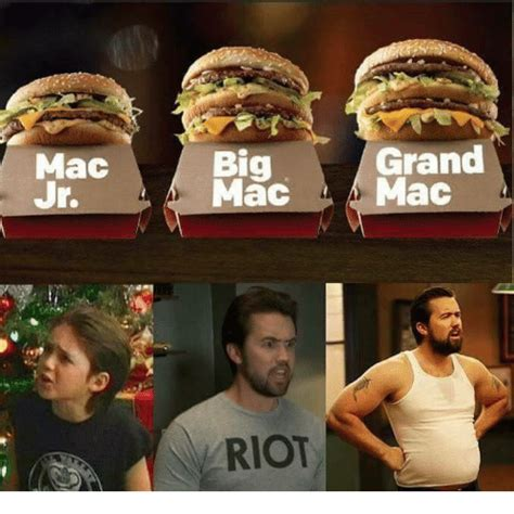 Big Mac Meme - mac grand big mac mac riot meme on me me