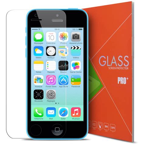 verre tremp 233 apple iphone 5 5s se 9h glass pro hd 0 33mm 2 5d