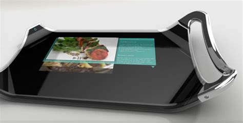 hi tech cutting board разделочная доска с гибким дисплеем интернет журнал etoday