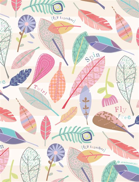 design pattern used in spring in the air by jill mcdonald pattern love pinterest