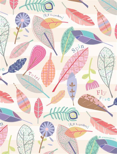 pattern design la in the air by jill mcdonald pattern love pinterest