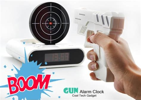 alarm clock that turns on light an alarm clock you to shoot to turn