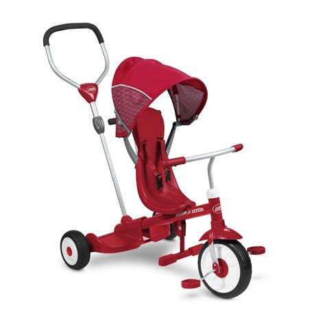 radio flyer tricycle ride stand stroll n trike tricycle for radio flyer