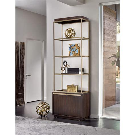 universal modern bronze garland etagere complete fashion