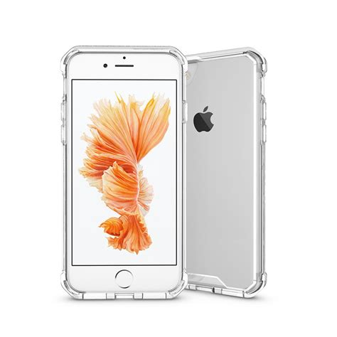 iphone  ultra slim shockproof crystal clear case