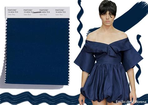 Sailor Blue by Pantone S Top 21 2018 Colors From Nyfw Lfw