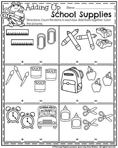 Back To School Kindergarten Worksheets Kindergarten Worksheets Kindergarten And Worksheets School Worksheets For Preschoolers