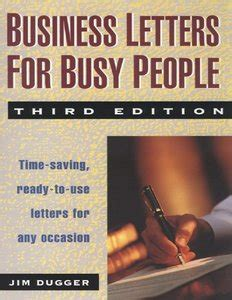 business letters ebook business letters for busy 3 ed free ebooks