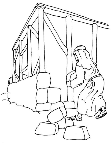 coloring pages house on the rock coloring page house on the rock kids coloring page gallery