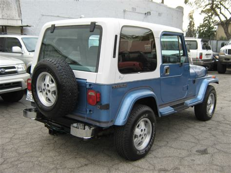 1989 Jeep For Sale 1989 Jeep Wrangler Yj Laredo For Sale