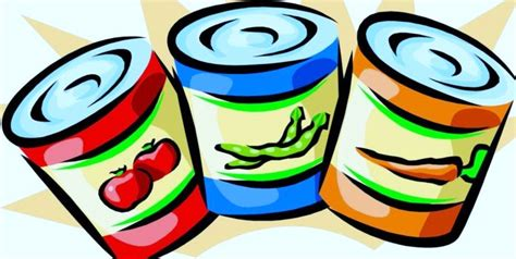 canned food clipart black  white clipart panda